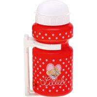 Lillebi Trinkflasche mit Rahmenhalterung rot Gr. 300