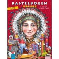Buch - Indianer Bastelbogen