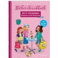 Buch - Sticker-Anziehbuch - Beste Freundinnen: Gemeinsam durchs Wochenende