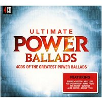 CD Ultimate...Power Ballads (4 CDs) Hörbuch