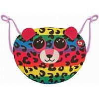 Dotty Leopard Mund-Nasen-Bedeckung bunt