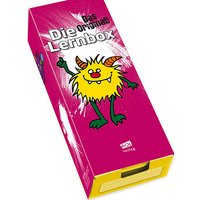 Buch - Die Lernbox (DIN A8) - Design: Monster