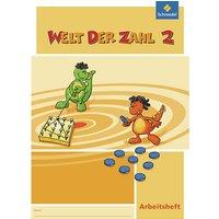 Buch - Welt der Zahl, Ausgabe 2008 Nordrhein-Westfalen: 2. Schuljahr, Arbeitsheft