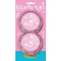 Muffinförmchen Butterfly, 50 Stück bunt