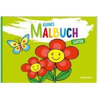 Buch - Kleines Malbuch. Garten