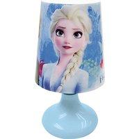 Disney Prinzessin - kabelose Mini-Nachttischlampe mit 3-farb LED blau