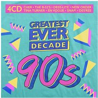 CD Greatest Ever Decade:The Nineties (4 CDs) Hörbuch