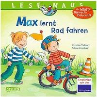 Buch - Lesemaus: Max lernt Rad fahren