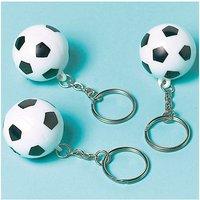 Schlüsselanhänger Fußball Championship Soccer, 12 Stück