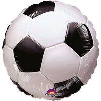 Folienballon Fußball, 45 cm