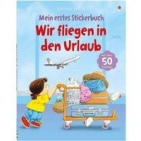 Buch - Mein erstes Stickerbuch: Wir fliegen in den Urlaub