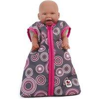 Puppenzubehör Schlafsack, grau