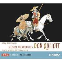 Seltsame Abenteuer des Don Quijote, Audio-CD Hörbuch
