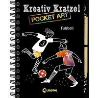Buch - Kreativ-Kratzel Pocket Art: Fußball