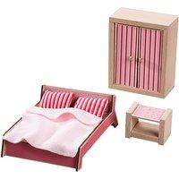 HABA 301988 Little Friends Puppenhausmöbel Schlafzimmer