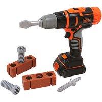 Black+Decker mechanischer Akkuschrauber orange/schwarz