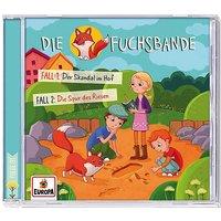 CD Die Fuchsbande 01 - Fall 1: Der Skandal im Hof / Fall 2: Die Spur des Riesen Hörbuch