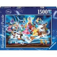 Puzzle 1500 Teile, 80x60 cm, Disney's magisches Märchenbuch