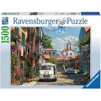 Puzzle 1500 Teile, 80x60 cm, Idyllisches Südfrankreich