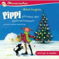 Ohrenwürmchen: Pippi plündert den Weihnachtsbaum und eine weitere Geschichte, 1 Audio-CD Hörbuch