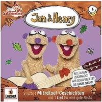 CD Jan & Henry 04 - 9 Rätsel und 1 Lied Hörbuch