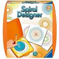 Spiral-Designer Mini, mit 2 Zahnrädern orange