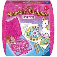 Mandala-Designer® Mini Set mit 1 Schablone, Einhorn