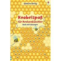 Knobelspaß Rechenkünstler - Buch mit Lösungen  Kinder