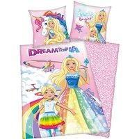 Wende- Kinderbettwäsche Barbie Dreamtopia, Rencorcé, 135 x 200 cm