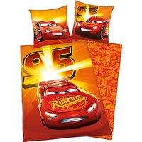 Wende- Kinderbettwäsche Disney Cars, Renforcé, 135 x 200 cm