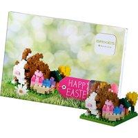 Glückwunschkarte BRIXIES Ostern hellgrün