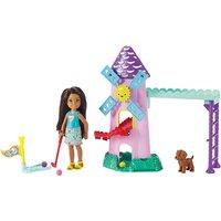 Barbie Chelsea Puppe und Mini-Golf Spielset