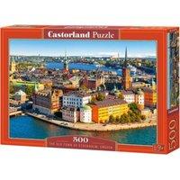 Puzzle 500 Teile Die Altstadt von Stockholm,Schweden