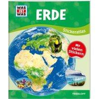 Buch - WAS IST WAS Sticker-Atlas Erde