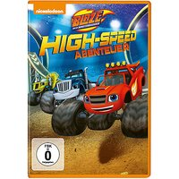 DVD Blaze und die Monstermaschinen - High-Speed Abenteuer Hörbuch