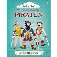 Buch - Mein Anzieh-Stickerbuch: Piraten
