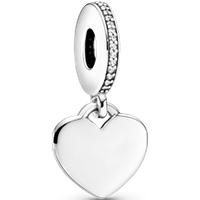 Charm Colgante Corazón PANDORA Moments Talla única Zirconia cúbica