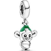 Charm colgante de ratón Cenicienta Gus de Disney Talla única Sin gema