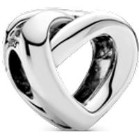 Charm Corazón anudado Talla única Sin gema