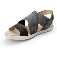 Damara Sandals In 100% Leather Ecco Black