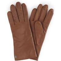 Leather Gloves Roeckl Brown