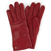 Leather Gloves Roeckl Red