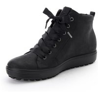 Ankle-high Sneakers Soft Seven Tred Ecco Black