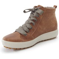 Ankle-high Sneakers Soft Seven Tred Ecco Brown