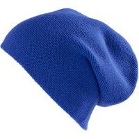 Beanie In 100% Cashmere Peter Hahn Cashmere Blue