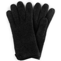 Gloves In 100% New Milled Wool Roeckl Black