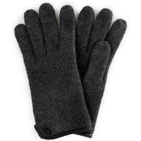 Gloves In 100% New Milled Wool Roeckl Grey