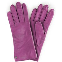 Leather Gloves Roeckl Bright Pink