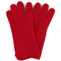 Gloves In 100% New Milled Wool Roeckl Red