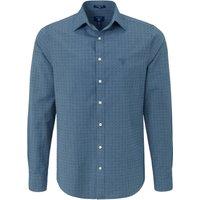 Denim Shirt A Kent Collar Gant Blue